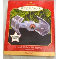 "Hallmark 1999 ""Darth Vader's TIE Fighter - Features Lights - From Star Wars"