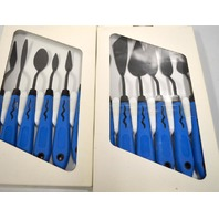 12 pc. Artist Painting Spatula Tools - with rubber handles.