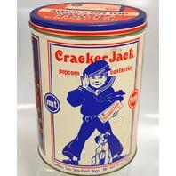 Vintage Cracker Jack Tin Can - 11 oz - Limited Edition