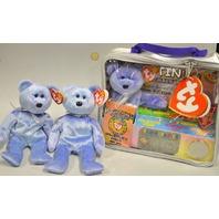 RARE Beanie Babies Platnium Membership AND TWO Clubby II Bears