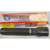 Pelican 8030 M8 Xenon 3C Tactical Flashlight-Black Knight - New old stock.
