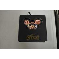 Celebrating 50 Years of Disney Theme Parks Mickey Disney Pin