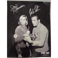 Sally Kellerman and William Shatner Signed Photograph
