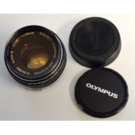 Olympus OM-SYSTEM F.ZUIKO AUTO-S1:1.8 f=50mm 51535