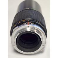Olympus om-system zuiko mc auto-t 1:4 f=200mm  220253 w lens covers