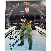Stargate Signed Photograph Richard Dean Anderson With Protective Cover