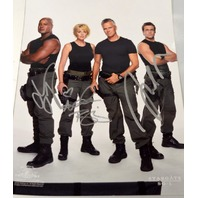 Stargate Signed Poster Judge-Tapping-Shanks