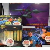 VividVision Star Trek Framable Collector Poster 3D Set of 5