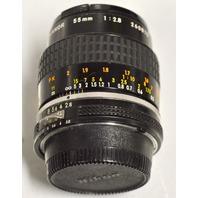 Micro Nikkor 55mm 1:2.8 Lens