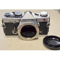 Olympus OM-2N Silver Camera Body Only.  35mm SLR
