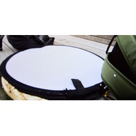 Sundisc - The Ultra Portable Softbox and Reversible Reflector.
