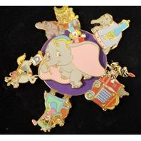 Disney LE500  Dumbo Circus Parade Spinner - Jumbo Pin.