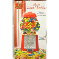"Mini Bean Machine - Jelly Belly - Glass Dome - 9"" Tall. New in the Box."