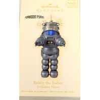 Hallmark 2009 Robby the Robot, Forbidden Planet - Light and sound. New in box.