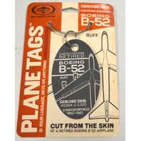 Moto Art ID Tags-Limited Edition of 3,500-1952-1962 #0344-Cut from the skin of a B-52