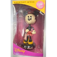 Vintage Bobble Time Figurine Clock with Minnie Mouse #CL0055