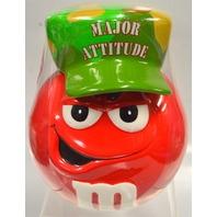 """M&M """"Galerie"""" Major Attitude Ceramic candy holder. #870898133"""