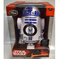 """Star Wars R2-D2 -Talking - 10 1/2"""" Figure-Disney-Head Turns, Body Rolls&Spins."""