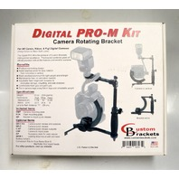 Custom Brackets Digital Pro-M Kit Camera Rotating Bracket - New in box.