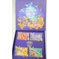 Disney 25th Anniversary Character Collection LE 500 4 pc Pin Set - #89156