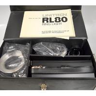 Vintage Unitron RL80 Ring Light with case 120-240V