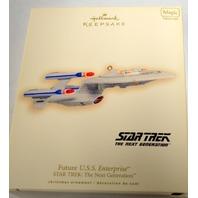 Hallmark 2007 Future U.S.S. Enterprise Star Trek The Next Generation - #04347