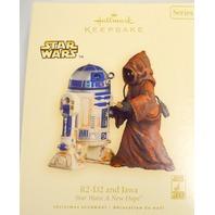 "Hallmark 2007 R2-D2 and Jawa - Star Wars:""A New Hope"" #04797"