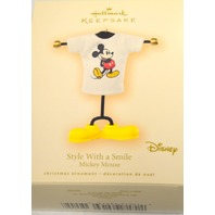 Hallmark 2007 Style With a Smile - Mickey Mouse #04207