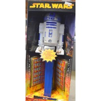 """Giant Star Wars R2-D2 Pez Candy Dispenser - Wow over 12"""" tall."""