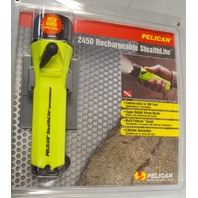 Pelican #2450 Rechargeable StealthLite Submersible to 500' w/Xenon Bulb