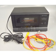 Optimus SCP-31 Stereo Cassette Tape Player 14-647A with cords.