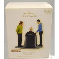 "Hallmark Keepsake Ornament Star Trek ""The Menagerie"" Light & sound #01232"
