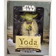 "Star Wars ""Yoda, Bring you Wisdon, I Will-Includes a book of Yoda's wisdom."