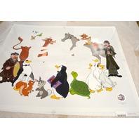 "Mary Poppins Disney Sericel ""A Supercalifragilistic Tea Party"" L@@K! Unframed."
