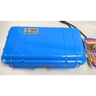 Pelican 1060 Micro Case Series - Solid Blue -Watertight seal, padded protection.