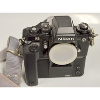 Nikon F3 35mm SLR Camera Body w/Nikon Motor Drive MD-4 199645
