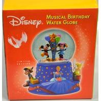 "Hallmark Musical Water Globe Walt's 100th Birthday ""When you wish upon a Star"""