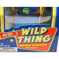 M&M's Wild Thing Roller Coaster Dispenser 2nd Edition - Limited Edition