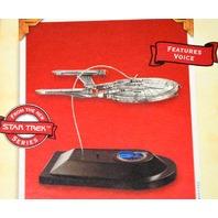 Hallmark Star Trek Ornametn Enterprise NX-01 - Features Voice