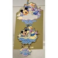 Disney Where Dreams HapPin 2007 LE - Celebration Logo.
