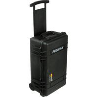 Pelican 1510 Case With Foam (Black) Carry-On Case - Black