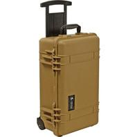 Pelican 1510 Case With Foam Carry-On Case Desert Tan