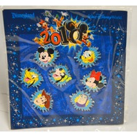 2010 Mickey Mouse and Friends Mini Pin Set - 7 pins.