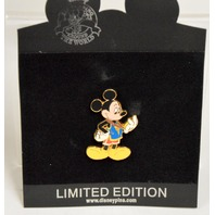 Disney Collectible Pin - Olympic Series - Mickey looking at his gold medal #66357