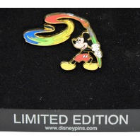 Disney Collectible LE Pin #66206 Mickey's Magic Paint Brush