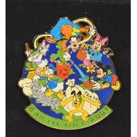 Disney  Collectible Pin LE 500-Jumbo Earth Day 2007 Fab 6