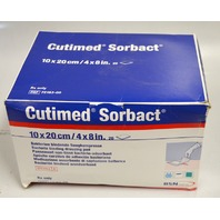 "Cutimed Sorbact Wound Dressing  4x8"" - Box of 19 pcs."