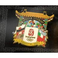 Beijing 2008 Olympic Opening & Closing Ceremonies Pin Set
