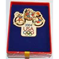 Disney Mickey Mouse Summer 2004 Olympic Jumbo Pin