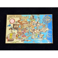 Disney Collectible Pin - Map of Never Never Land Jumbo Pin - LE 500